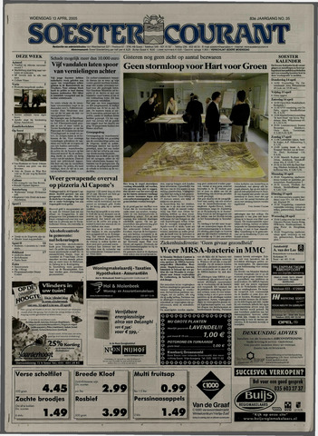 Soester Courant 2005-04-13