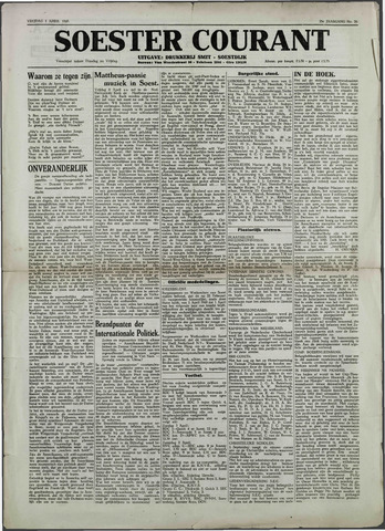 Soester Courant 1949-04-01