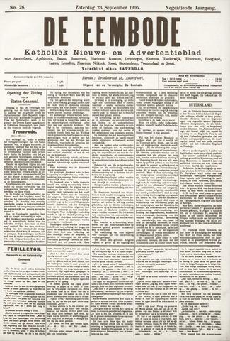De Eembode 1905-09-23