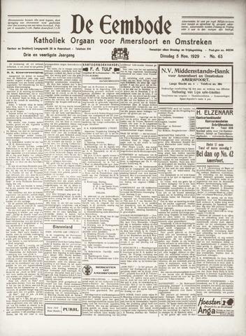 De Eembode 1929-11-05