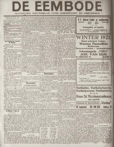 De Eembode 1921-11-18