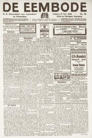 De Eembode 1924-10-17