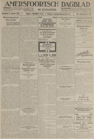 Amersfoortsch Dagblad / De Eemlander 1934-01-31