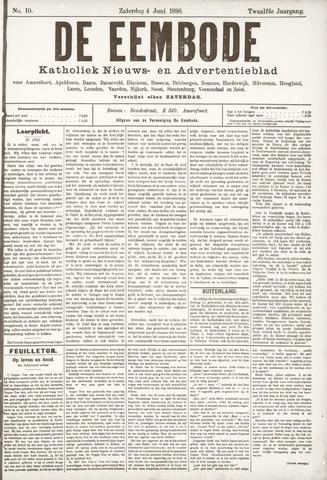 De Eembode 1898-06-04