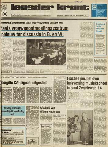 Leusder Krant 1984-02-14