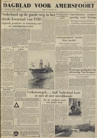 Dagblad voor Amersfoort 1951-02-03