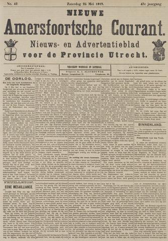Nieuwe Amersfoortsche Courant 1918-05-25