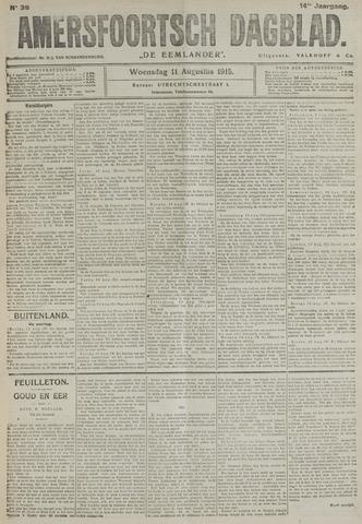 Amersfoortsch Dagblad / De Eemlander 1915-08-11