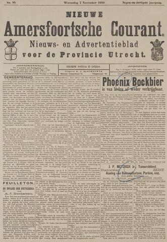 Nieuwe Amersfoortsche Courant 1910-11-02