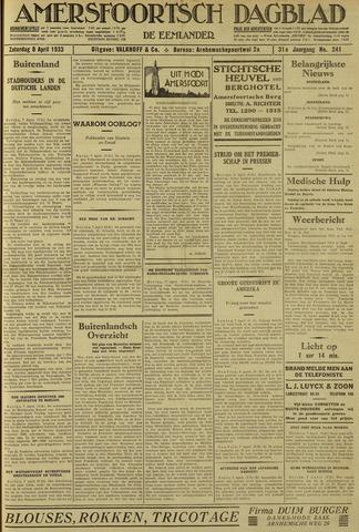 Amersfoortsch Dagblad / De Eemlander 1933-04-08