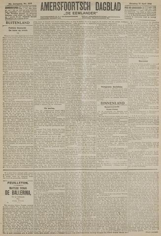 Amersfoortsch Dagblad / De Eemlander 1918-04-16