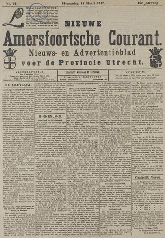 Nieuwe Amersfoortsche Courant 1917-03-14