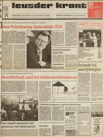 Leusder Krant 1989-11-13