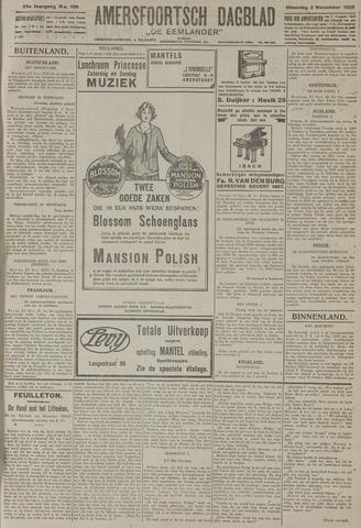 Amersfoortsch Dagblad / De Eemlander 1925-11-02