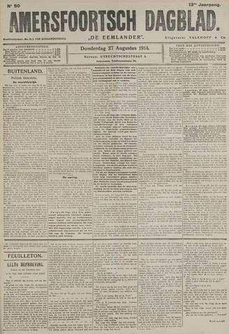 Amersfoortsch Dagblad / De Eemlander 1914-08-27