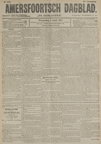 Amersfoortsch Dagblad / De Eemlander 1917-04-04