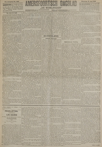 Amersfoortsch Dagblad / De Eemlander 1919-06-16