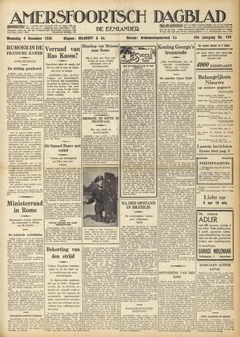 Amersfoortsch Dagblad / De Eemlander 1935-12-04