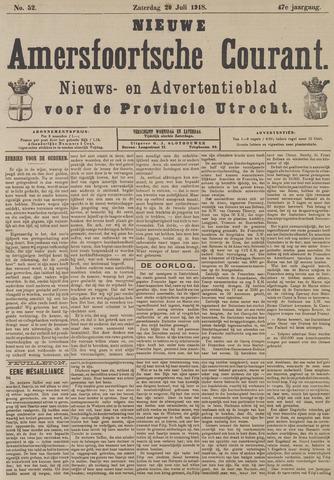 Nieuwe Amersfoortsche Courant 1918-07-20