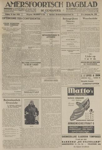 Amersfoortsch Dagblad / De Eemlander 1933-06-16