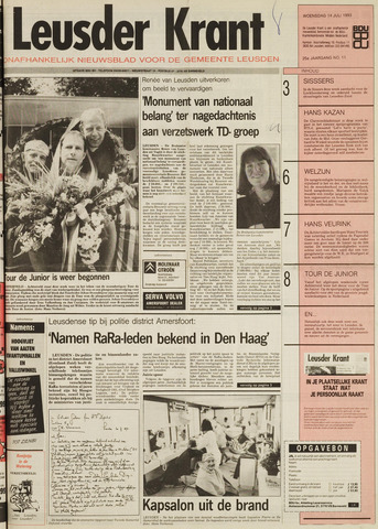 Leusder Krant 1993-07-14