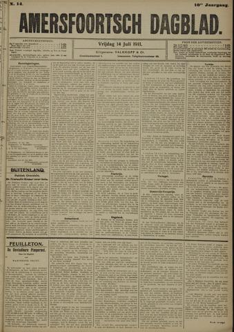 Amersfoortsch Dagblad 1911-07-14