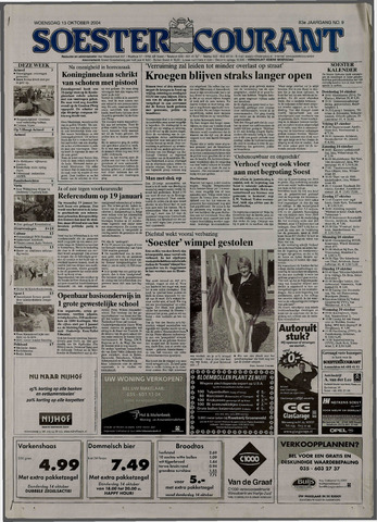 Soester Courant 2004-10-13