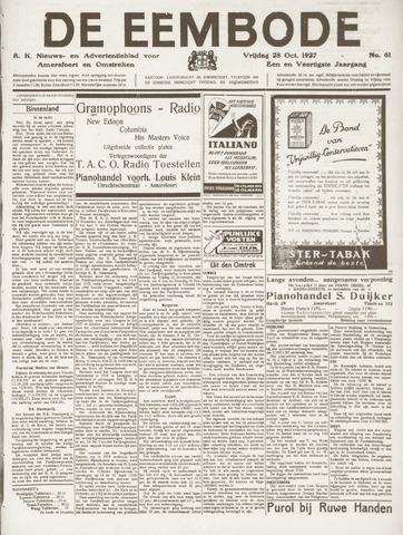 De Eembode 1927-10-28