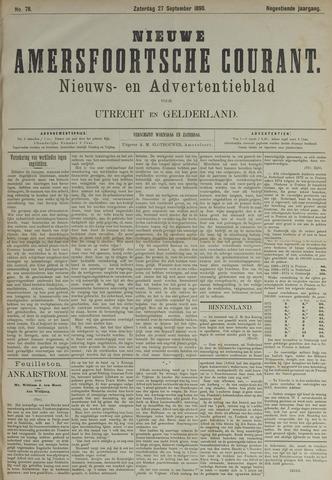 Nieuwe Amersfoortsche Courant 1890-09-27