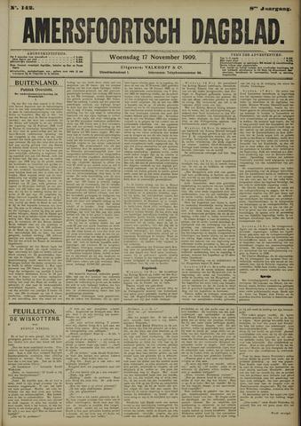 Amersfoortsch Dagblad 1909-11-17