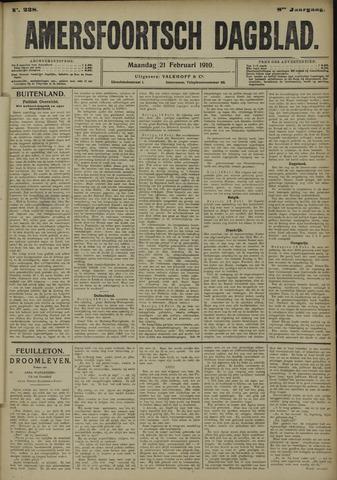 Amersfoortsch Dagblad 1910-02-21