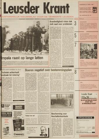 Leusder Krant 1993-04-21