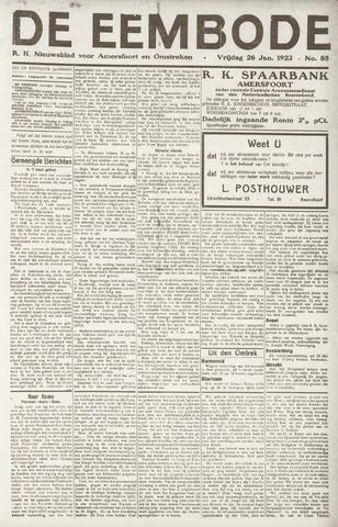 De Eembode 1923-01-26