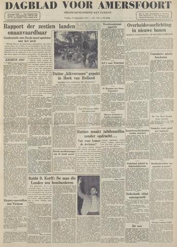 Dagblad voor Amersfoort 1947-09-12