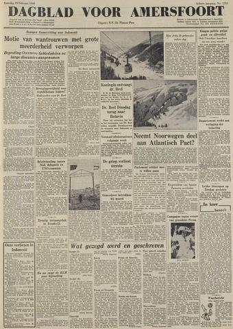 Dagblad voor Amersfoort 1949-02-19