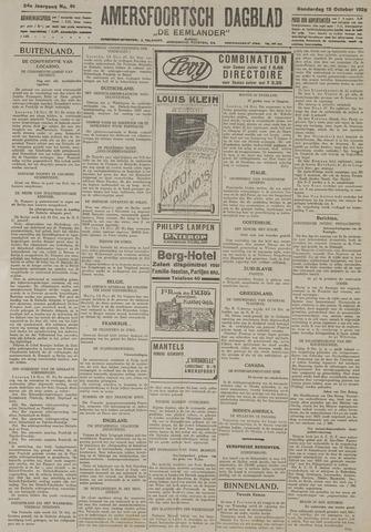 Amersfoortsch Dagblad / De Eemlander 1925-10-15