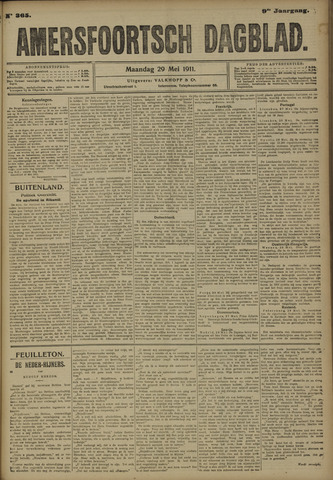 Amersfoortsch Dagblad 1911-05-29