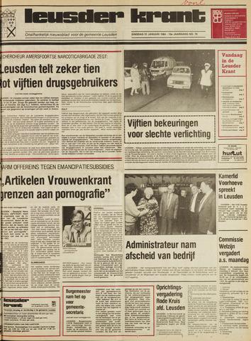 Leusder Krant 1984-01-31