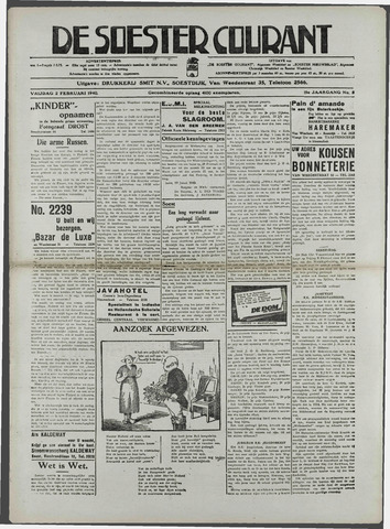 Soester Courant 1940-02-02