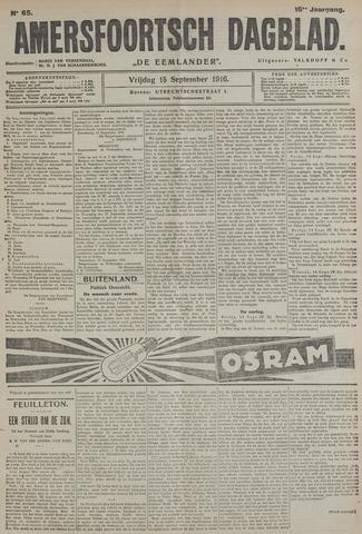 Amersfoortsch Dagblad / De Eemlander 1916-09-15
