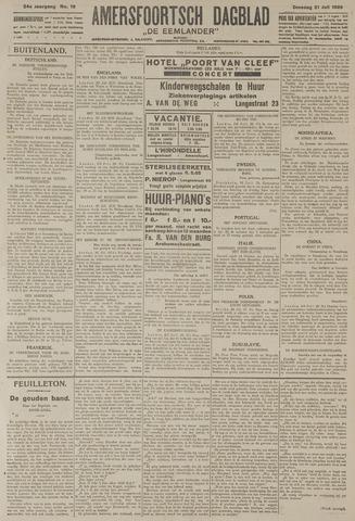 Amersfoortsch Dagblad / De Eemlander 1925-07-21