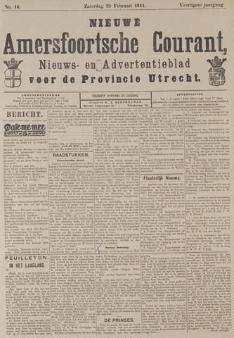 Nieuwe Amersfoortsche Courant 1911-02-25