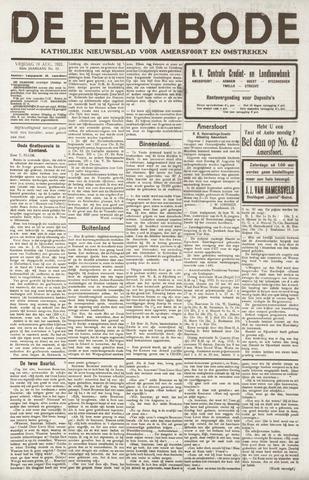 De Eembode 1921-08-19