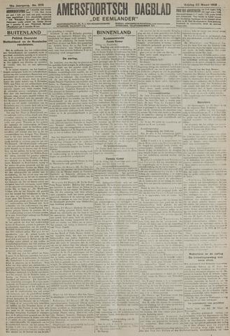 Amersfoortsch Dagblad / De Eemlander 1918-03-22