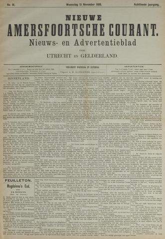 Nieuwe Amersfoortsche Courant 1889-11-13