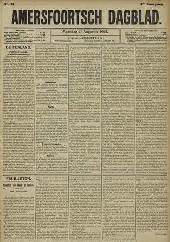 Amersfoortsch Dagblad 1905-08-21