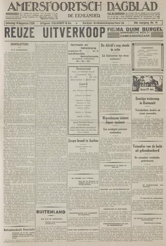 Amersfoortsch Dagblad / De Eemlander 1930-08-16