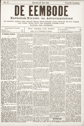 De Eembode 1898-07-23