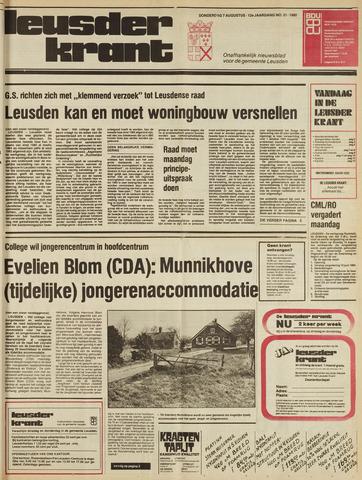 Leusder Krant 1980-08-07