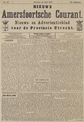 Nieuwe Amersfoortsche Courant 1918-06-15